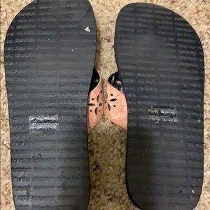 Yellow Box Shoes - Yellow box flip flops. Size 8